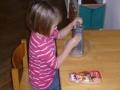 Parmesanreiben für die Nudeln